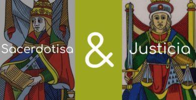 Significado de la Justicia y la Sacerdotisa