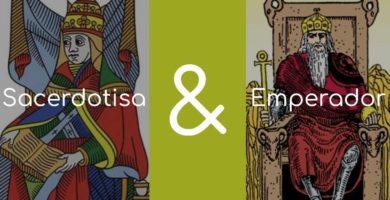 significado de el emperador y la sacerdotisa