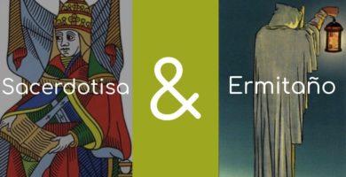 significado de el ermitano y la sacerdotisa