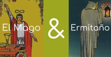 significado de el mago y el ermitano