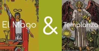 significado de el mago y la templanza