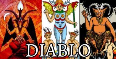 significado de la carta de el diablo en el tarot de marsella