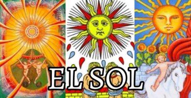 significado de la carta de el sol en el tarot de marsella