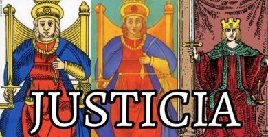 significado de la carta de la justicia en el tarot de marsella