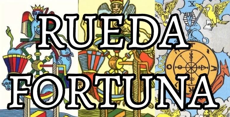 significado de la carta de la rueda de fortuna en el tarot de marsella