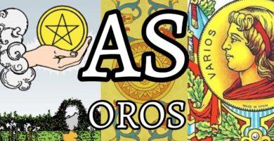 significado de la carta del as de oros en el tarot