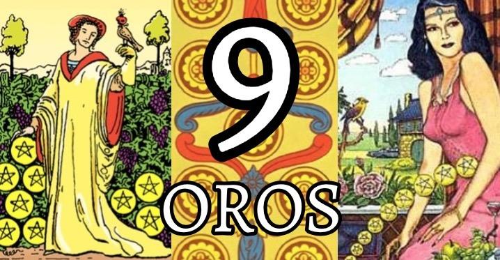 Significado Del Nueve De Oros En El Tarot Amor Dinero Y Salud