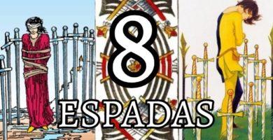 significado de la carta del ocho 8 de espadas en el tarot
