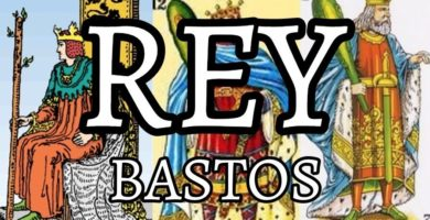 significado de la carta del rey de bastos en el tarot