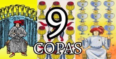 significado de la cartas del nueve 9 de copas en el tarot