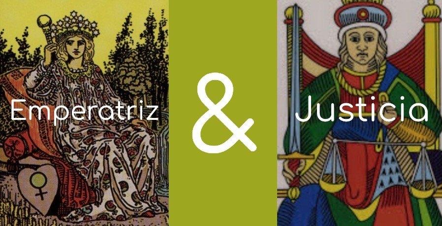 significado de la justicia y la emperatriz
