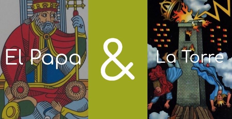 significado de la torre y el papa