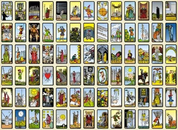 significado e interpretacion de las cartas y barajas del tarot de marsella