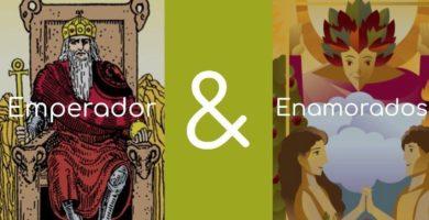 significado de los enamorados y el emperador