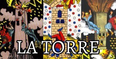 significado de la carta de la torre en el tarot de marsella